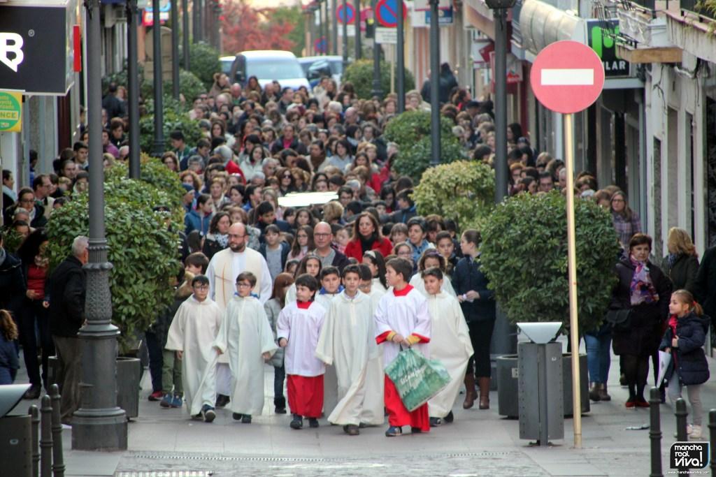 Photo of La Cruz de la Misión Diocesana visita las Parroquias de San Juan Evangelista y La Encarnación