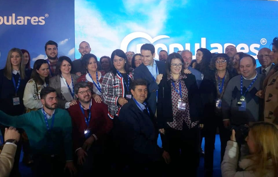 Photo of Más de 40 representantes de Populares de Mancha Real asisten a la Convención Provincial del PP
