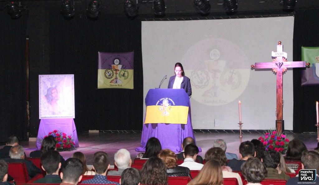 Photo of Brillante Presentación del Cartel Semana Santa 2019 de Inmaculada Hervás