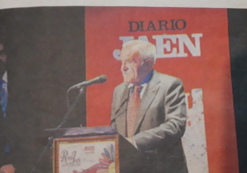 Photo of José Luis Quero es galardonado en los Premios Reino de Jaén