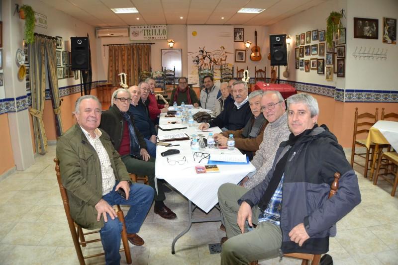 Photo of El Trillo acoge en su sede la Reunión de la Junta Directiva de la Federación de Peñas Flamencas de Jaén