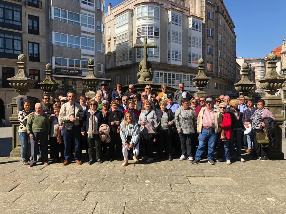 Photo of El primer turno del viaje de jubilados y pensionistas ya se encuentran en tierras gallegas