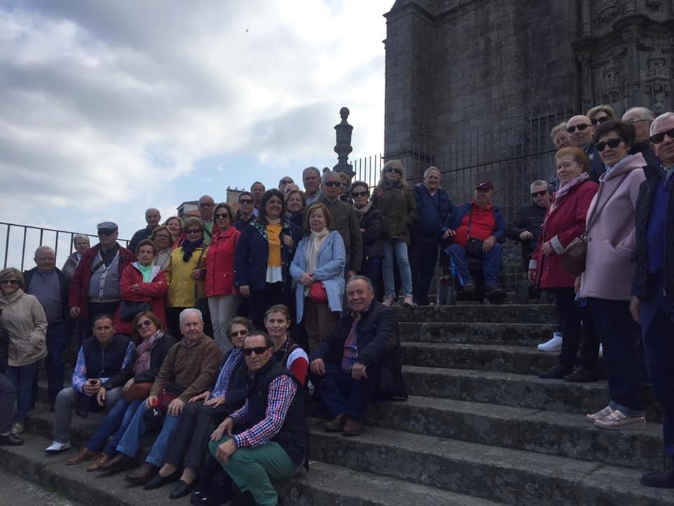 Photo of El 2º turno del viaje de jubilados disfruta de su estancia en tierras gallegas