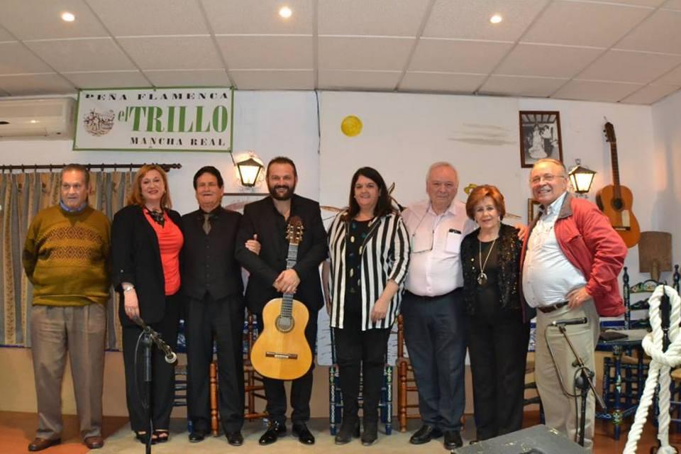 Photo of Otra noche llena de emociones en la peña El TRILLO con Antonio Patrocinio y Patrocinio hijo