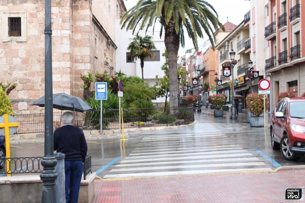 Photo of Los pasos de Semana Santa en Mancha Real peligran por la lluvia que ya ha comenzado a caer