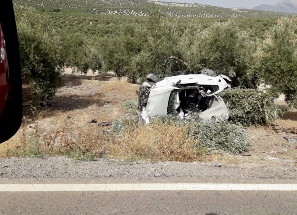 Photo of Grave accidente cerca de Mancha Real en la «Venta de la mulilla»