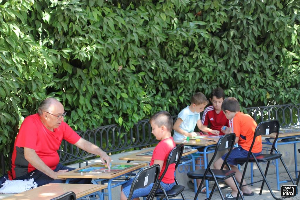Photo of Los Juegos de mesa volvieron a la «plaza» en una mañana agradable de temperaturas y ocio