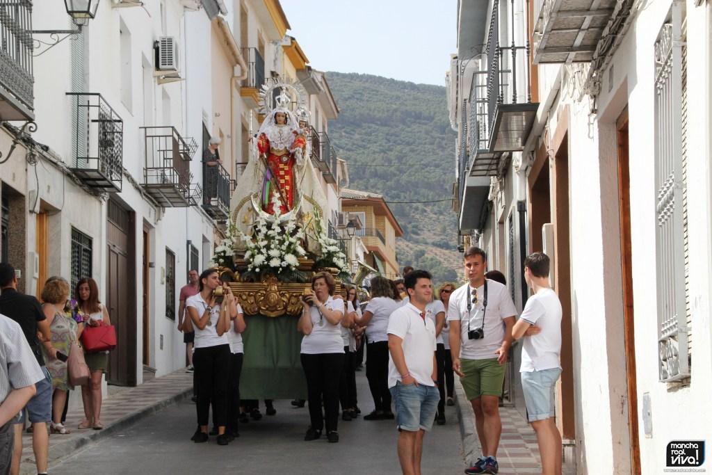 Photo of Emoción en el Traslado de la Patrona la Virgen del Rosario después de su restauración