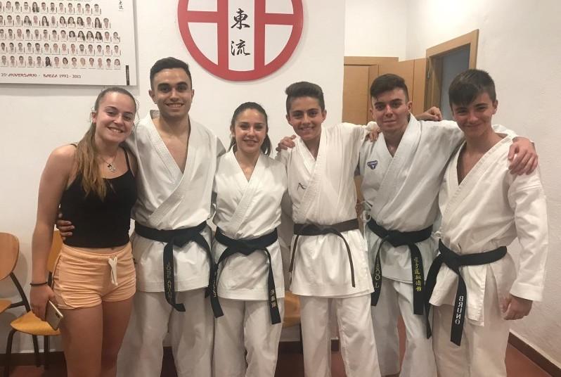 Photo of Los Karatekas del gym okinawa siguen con sus éxitos dentro y fuera de España