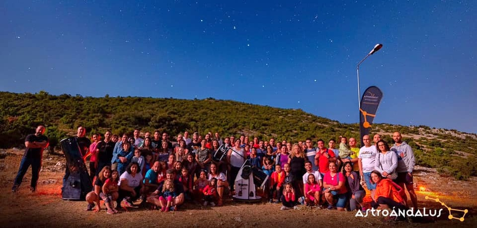 Photo of Mas de 120 personas disfrutaron en la Observación Astronómica de la visión de la Luna y las estrellas