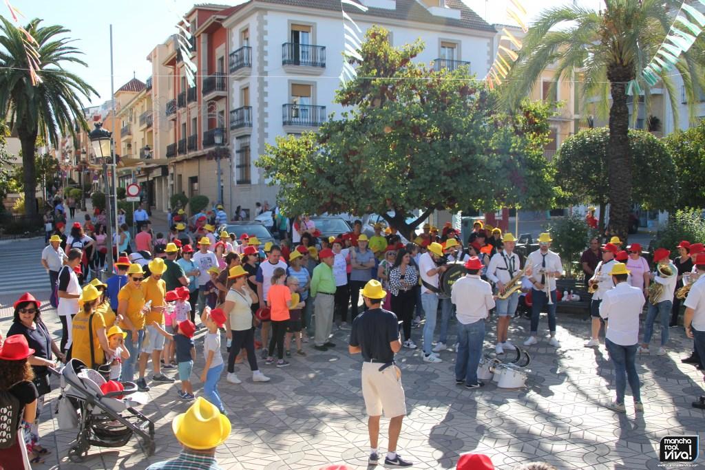 Photo of Decenas de personas dieron colorido y animación a la XV Marcha Popular Virgen del Rosario