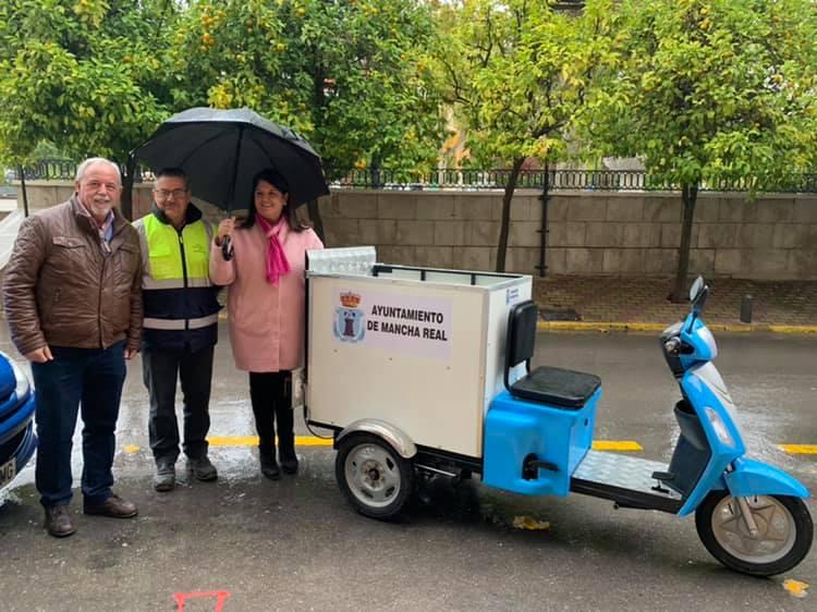 Photo of El Ayuntamiento adquiere una moto para el servicio de limpieza