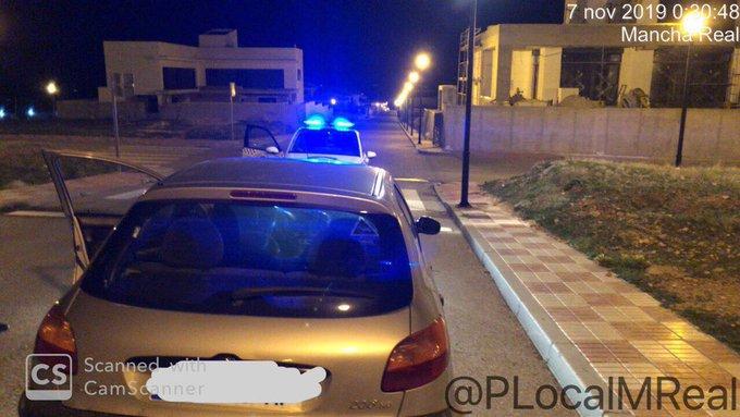 Photo of La Policía Local intercepta un vehículo conducido por un menor en conducción negligente