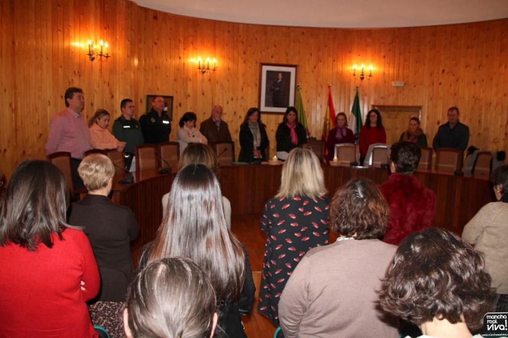 Photo of Lectura de un Manifiesto Institucional en el Día del NO a la Violencia de Género