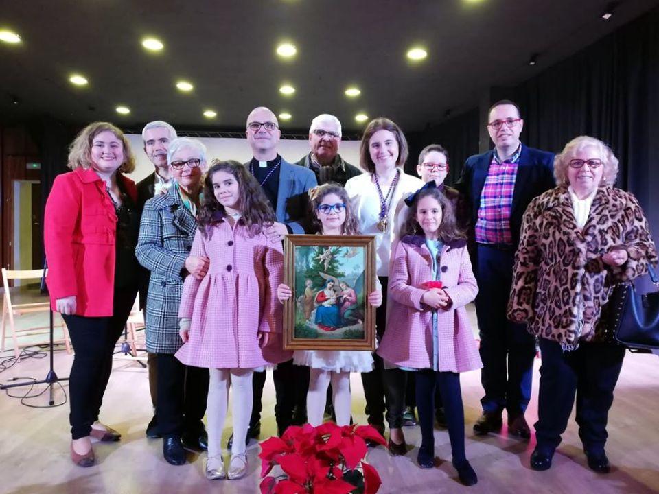 Photo of Emotiva Presentación del Cartel de Navidad a cargo de María Rosa Sanjuan