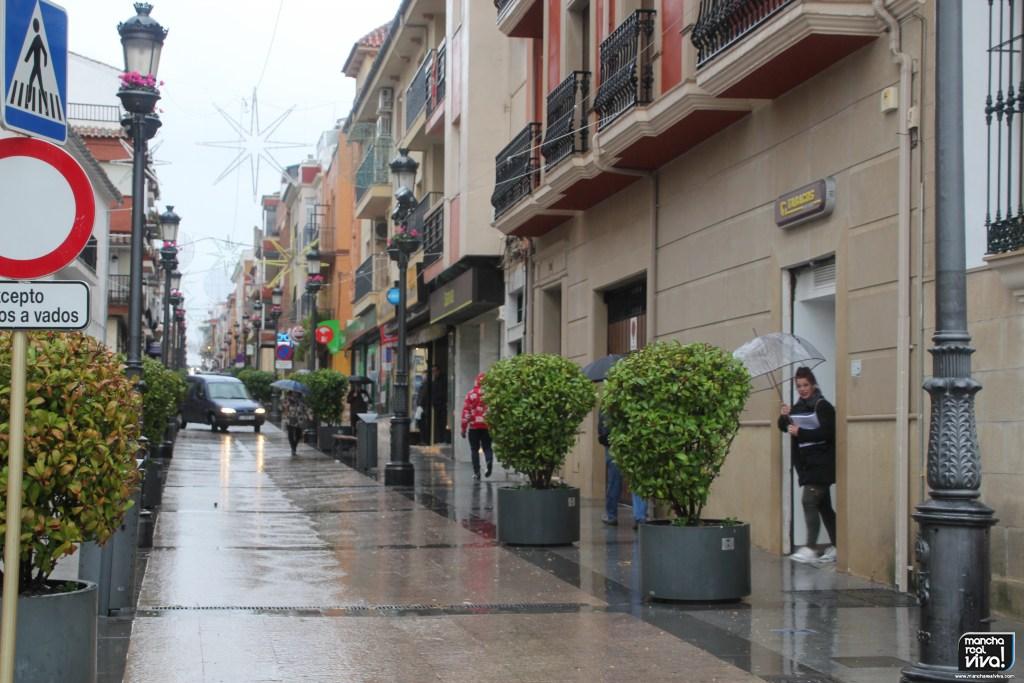 Photo of Temporal de lluvia y viento sobre Mancha Real