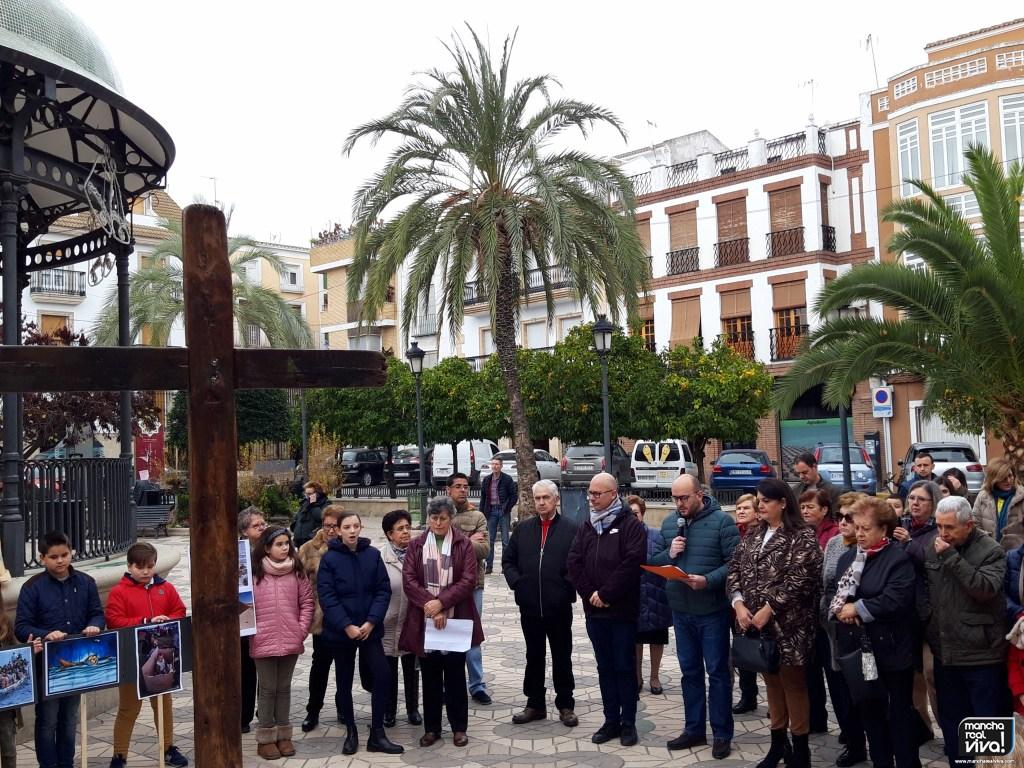 Photo of La «Cruz de Lampedusa» fabricada con restos de pateras y naufragios llega a Mancha Real