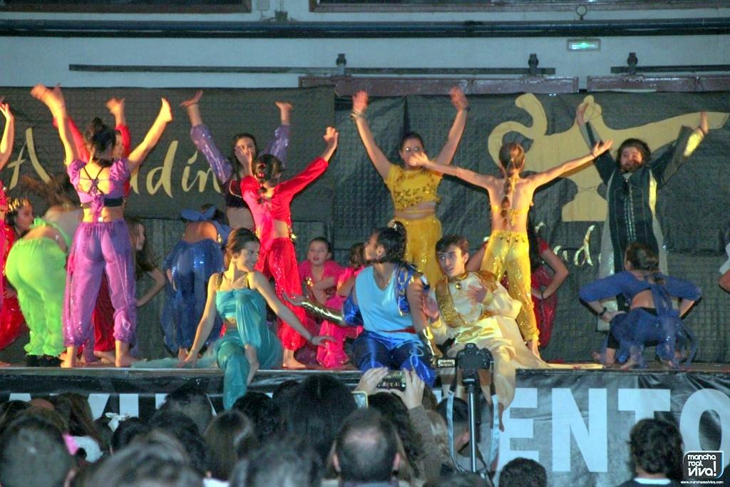 Photo of La magia de «Aladdín» brilló en el espectáculo musical de Dancer Dreams