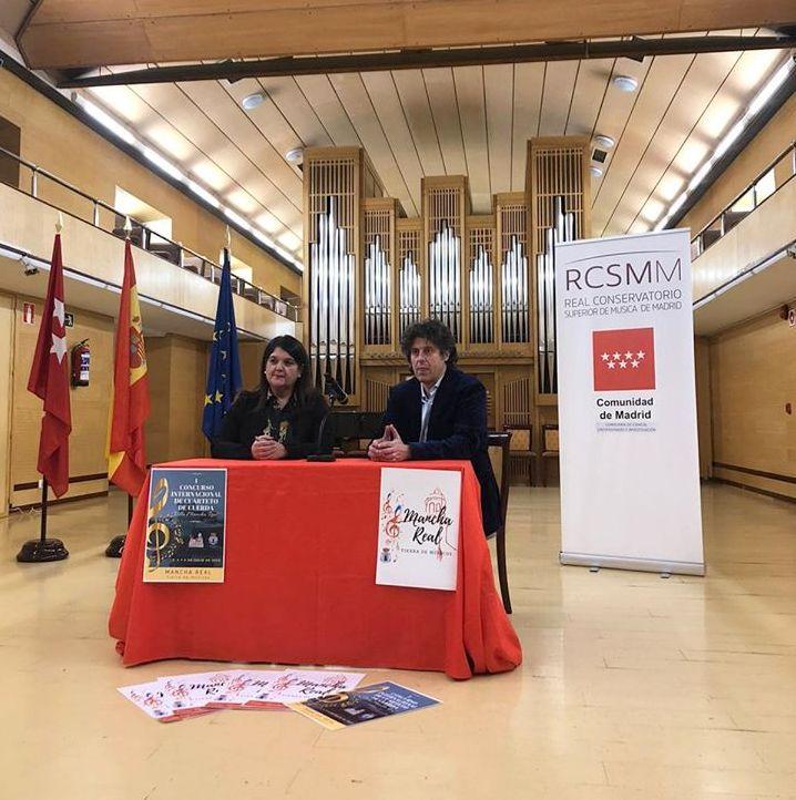 Photo of Presentación del Concurso Internacional de Cuartetos de Cuerda «Villa de Mancha Real»