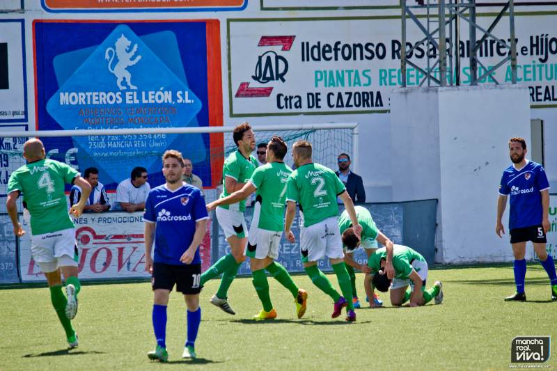 Photo of Recordamos el derbi en 2014 entre el At. Mancha Real y el Linares Deportivo