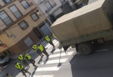 """Photo of La Brigada del Ejercito """"Guzmán el Bueno"""" patrulla por las calles de nuestra localidad"""