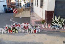 Photo of Familiares, amigos y vecinos dieron el último adiós a Manoli en el lugar de su muerte