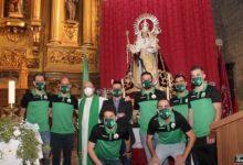Photo of El At. Mancha Real presenta a la empresa que gestionará la publicidad y después hace una Ofrenda Floral a la Virgen