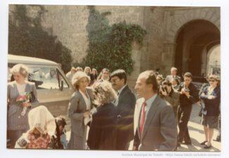 Diana de Gales con los Reyes