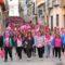 Las calles de Mancha Real se tiñen de rosa en el Día Mundial contra el Cáncer de Mama