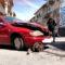 Accidente de dos vehículos en la avenida Andalucía de Mancha Real